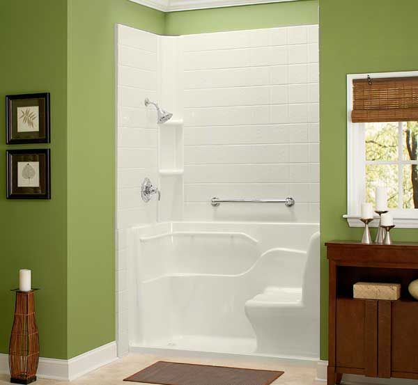 Shower Stall Of 30 Inch Wide | Shower Ideas | Pinterest | Handicap Bathroom,  House And Bedrooms