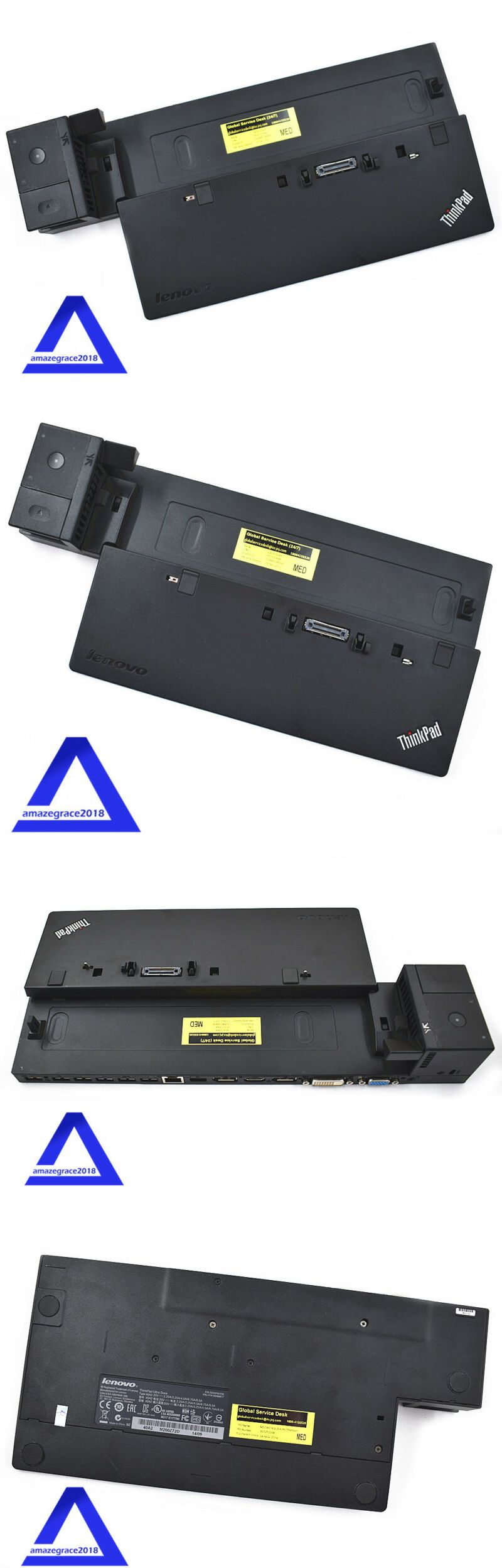 Laptop Docking Stations 3709: Lenovo Thinkpad Ultra Dock
