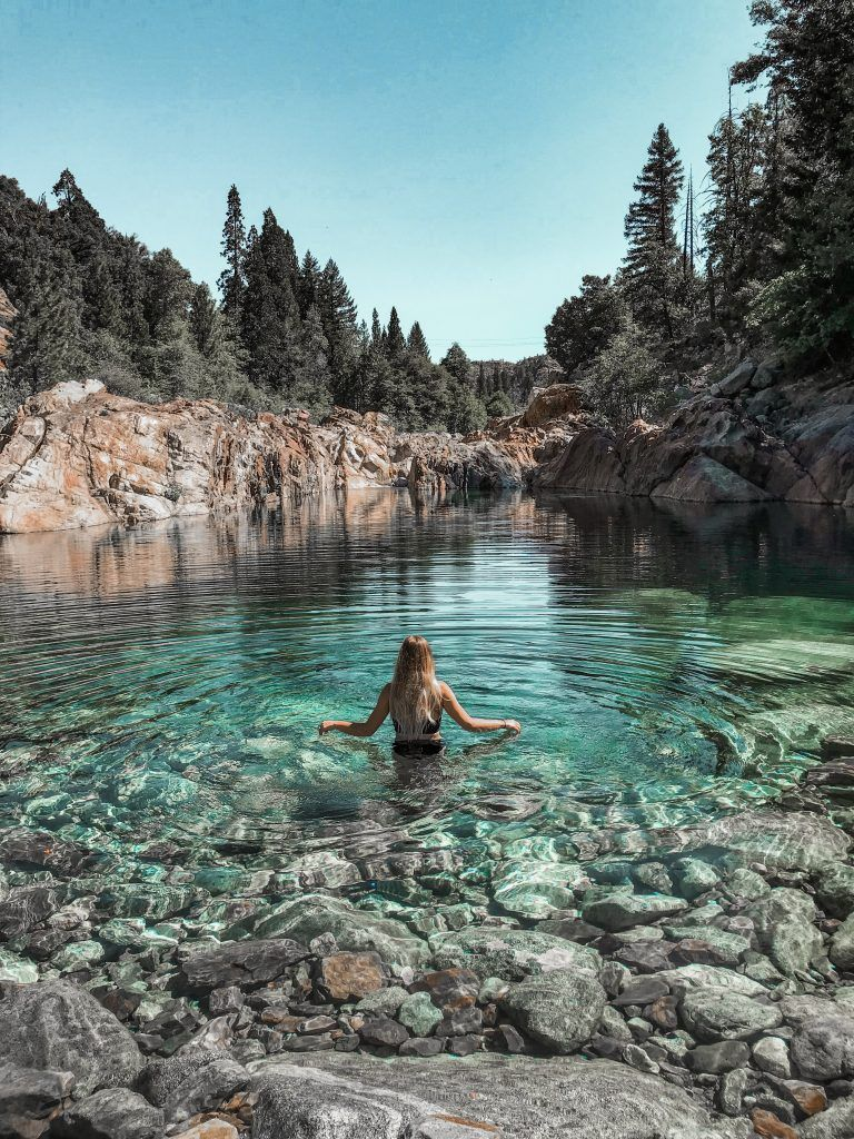 Tahoe National Forest S Best Kept Secret The Emerald Pools California Travel Road Trips Cool Places To Visit Tahoe Trip