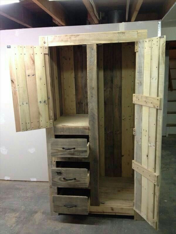 Wood Pallet Furniture Ideas Plans DIY Projects