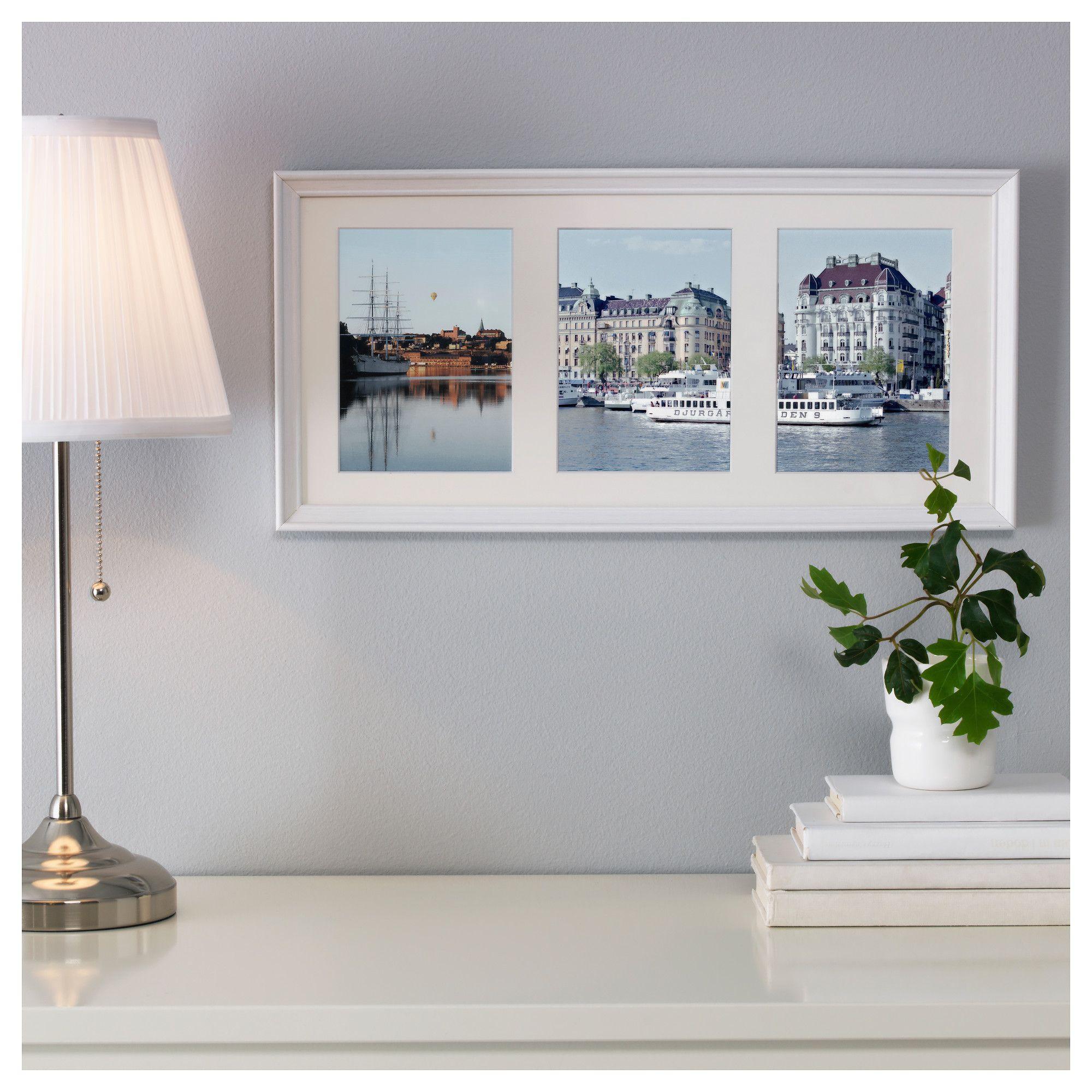 KNOPPANG Κάδρο για 3 φωτογραφίες - IKEA | bedroom | Pinterest
