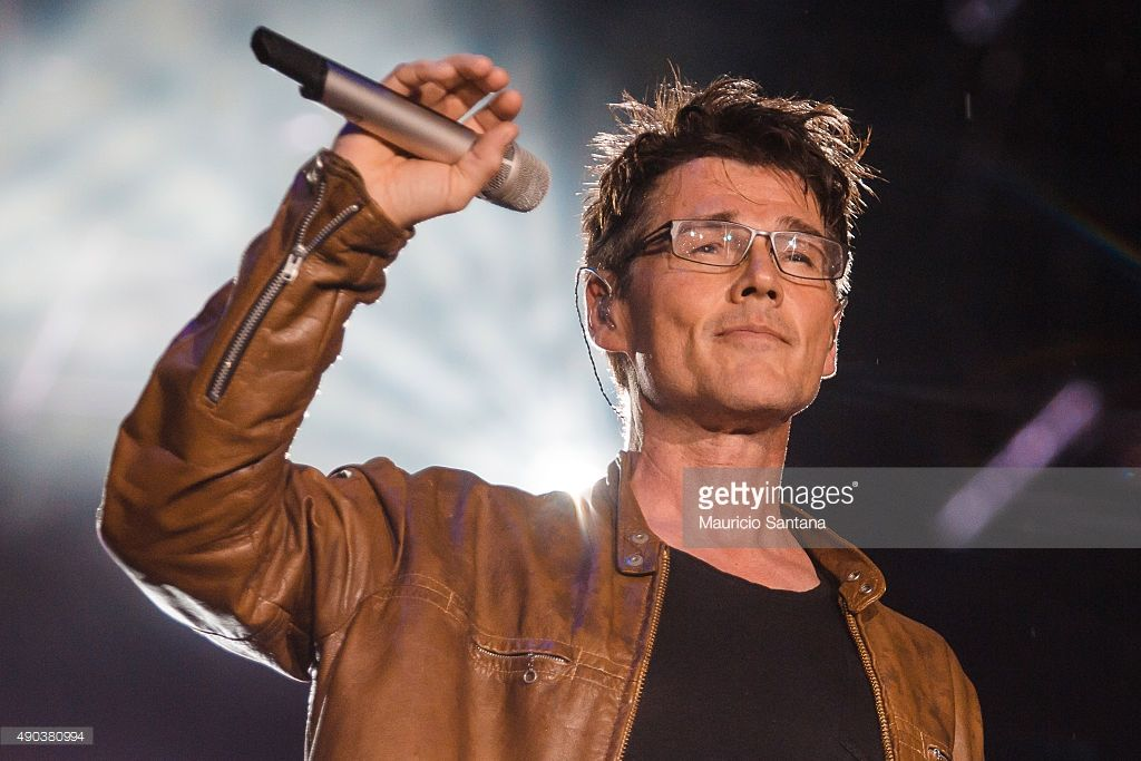 Morten Harket From A Ha Performs At 2015 Rock In Rio On September