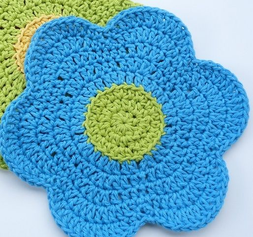 crochet dishcloth pattern free | These dishcloths work up quickly ...
