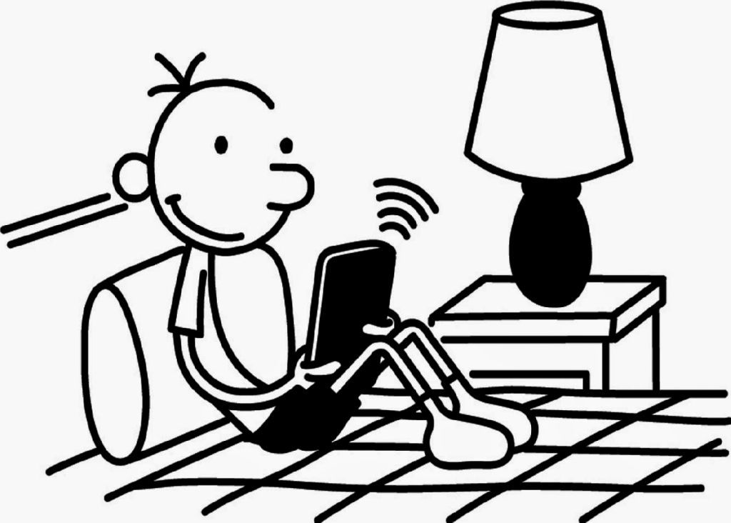 Diary Of A Wimpy Kid Coloring Pages Coloring Pages Pinterest