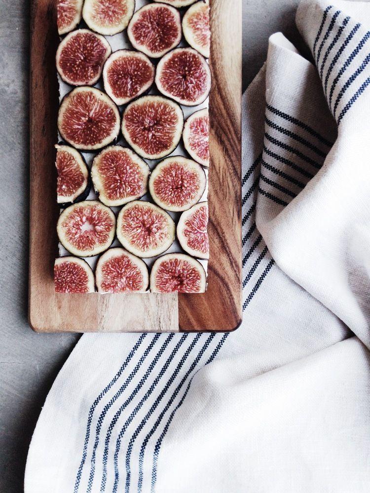 Raw Coconut + Fig Slice