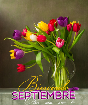 BANCO DE IMAGENES GRATIS: Bienvenido Septiembre !! Mensajes para compartir en…