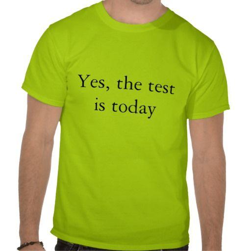 Teacher ware - Test T-Shirt   Zazzle.com