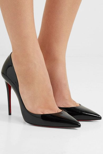 61115703a60c Christian Louboutin - Iriza 100 patent-leather pumps in 2019 ...