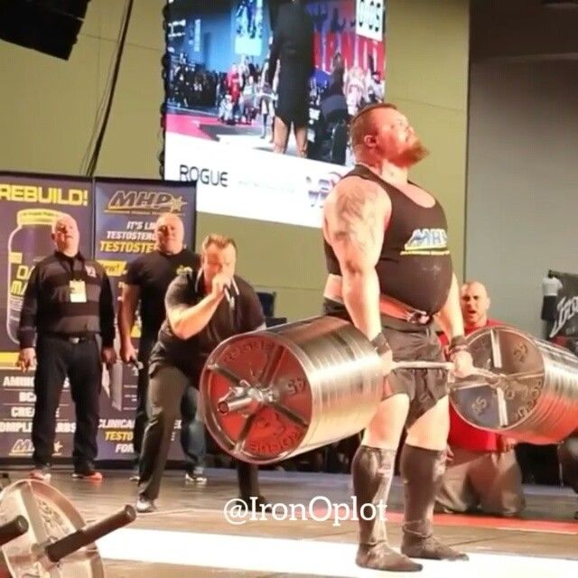 Repost Ironoplot 465kg 1025lbs New World Record Deadlift