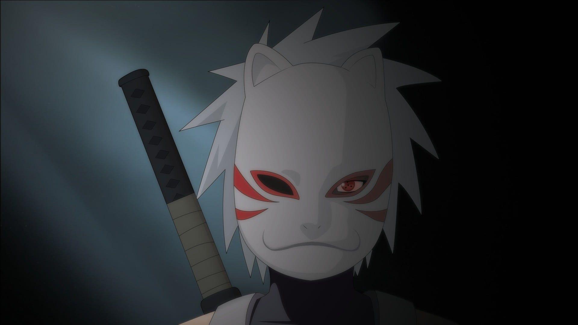 Naruto Character Illustration Naruto Shippuuden Hatake Kakashi Anbu Mask Anime 1080p Wallpaper Hdwall Kakashi Anbu Kakashi Hatake Naruto Wallpaper Iphone