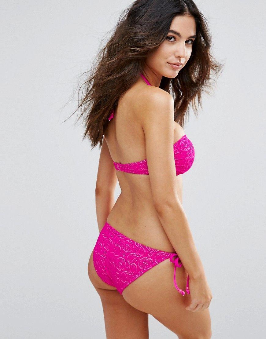 Marie Meilie Pink Side Tie Brief - Pink
