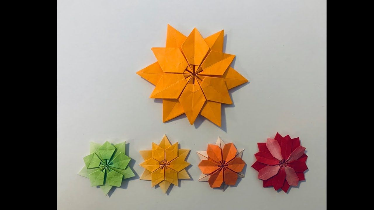 pin on origami sterne