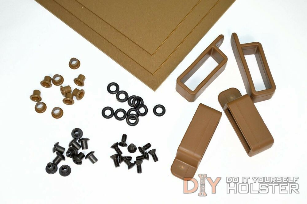 EXTRAS MANY COLOR OPTIONS AVAILABLE KYDEX DIY HOLSTER MAKING KIT