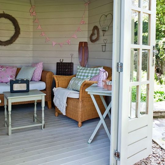 2 Summerhouse Style Garden Ideas Summer House Furniture Summer