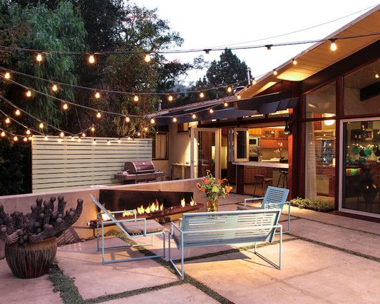 15 Amazing Midcentury Outdoor Designs Modern Patio Patio Design Modern Backyard