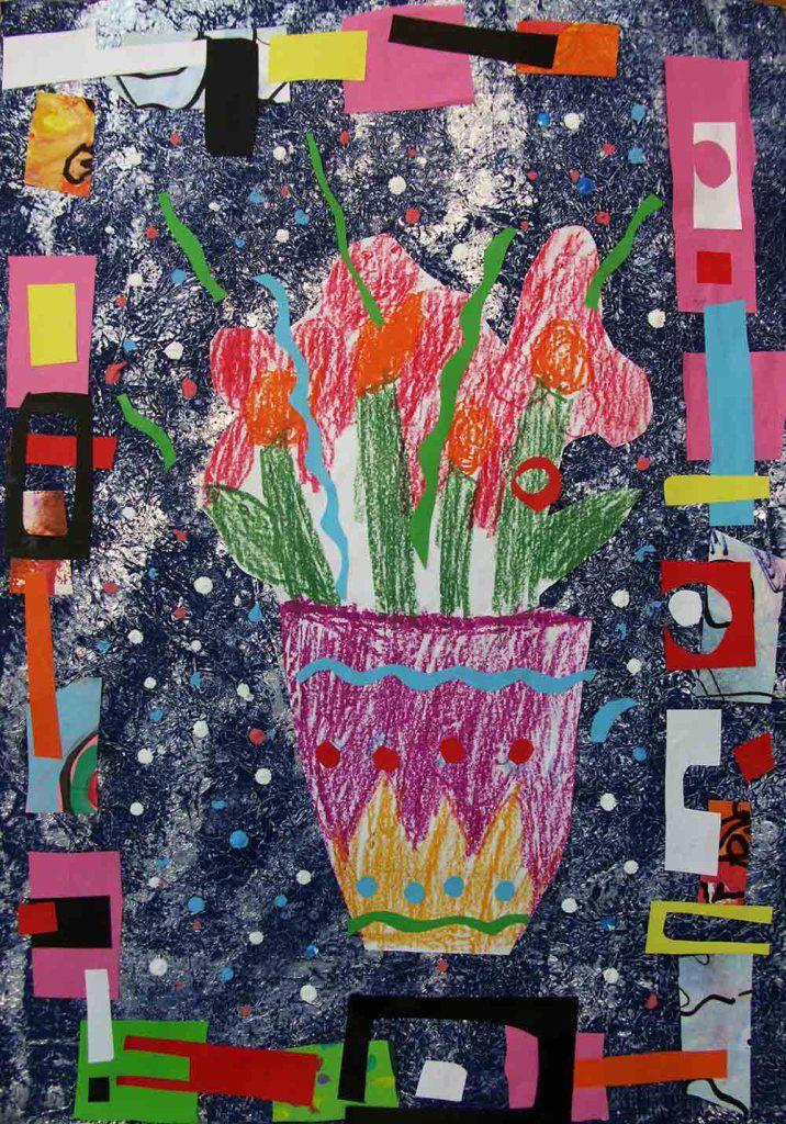 Kwiatki Na Dzien Matki Kreatywniejemy Kids Art Projects Art Projects Art