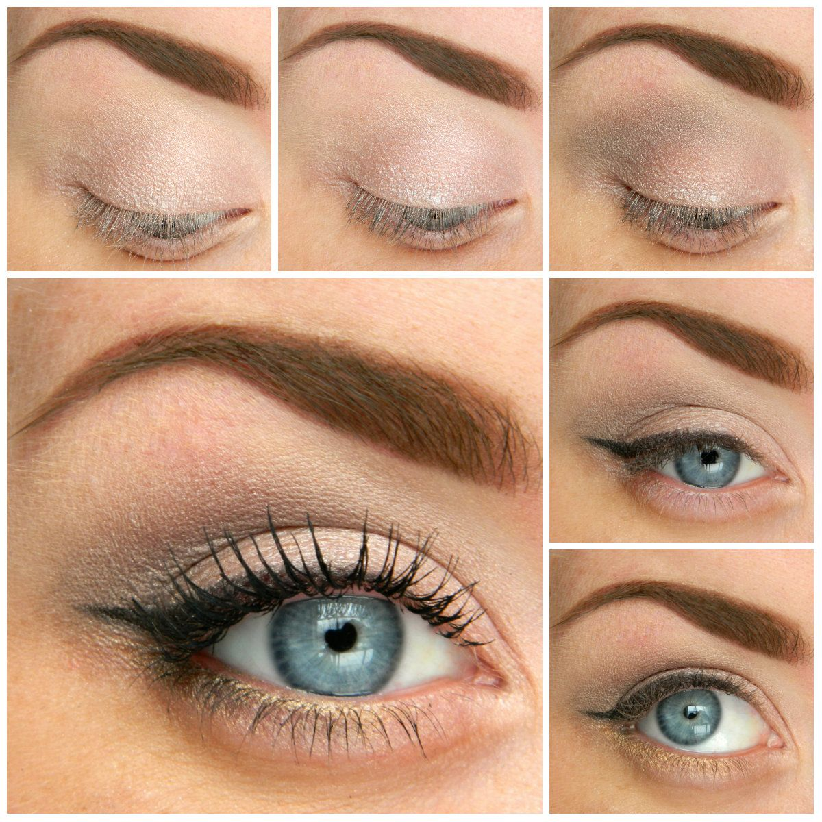 5 Ways to Make Blue Eyes Pop with Proper Eye Makeup | Natural eyes ...