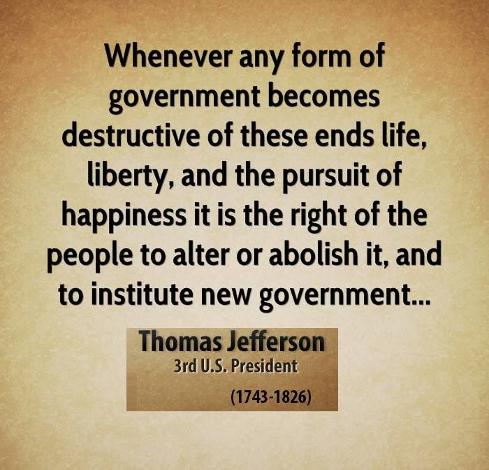 Life Liberty Pursuit Of Happiness Thomas Jefferson Quotes Jefferson Quotes Thomas Jefferson Quotes Happy Quotes