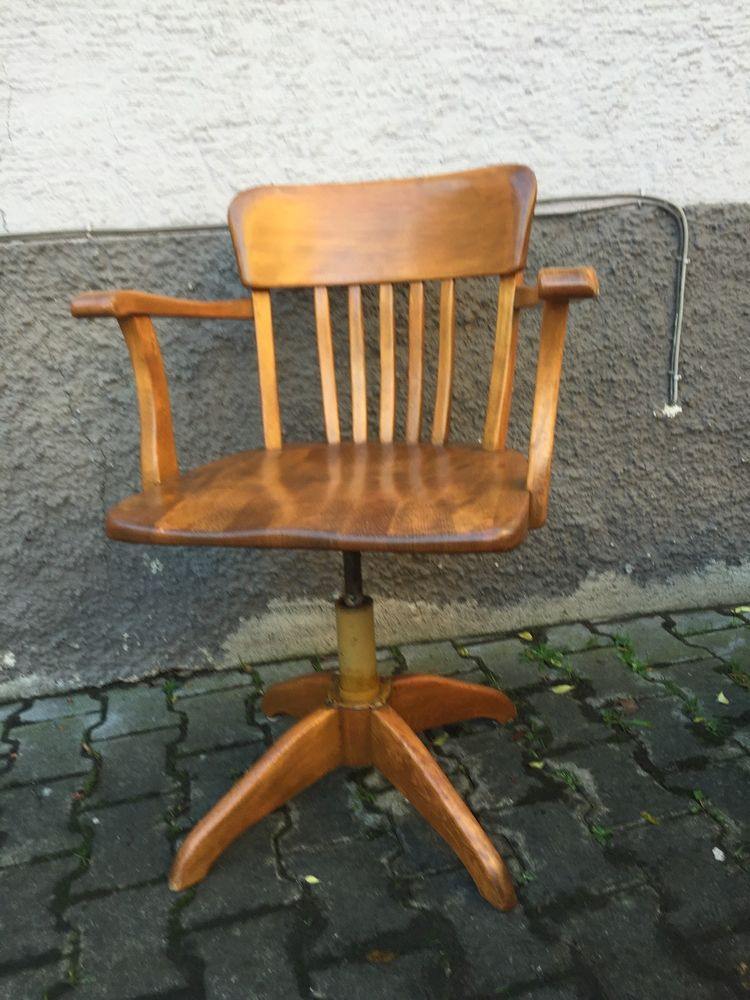 Federdreh Burostuhl Bauhaus Art Deco Architekten Stuhl Wohnung