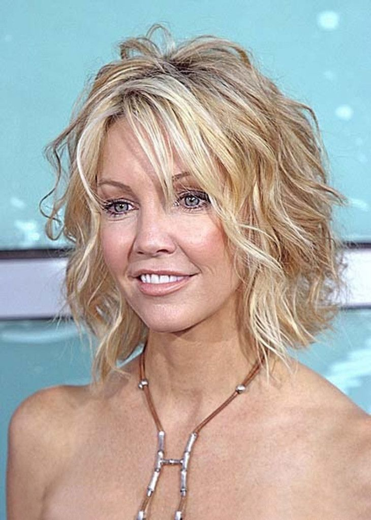 Short Wavy Hairstyles For Women S Thin Curly Hair Short