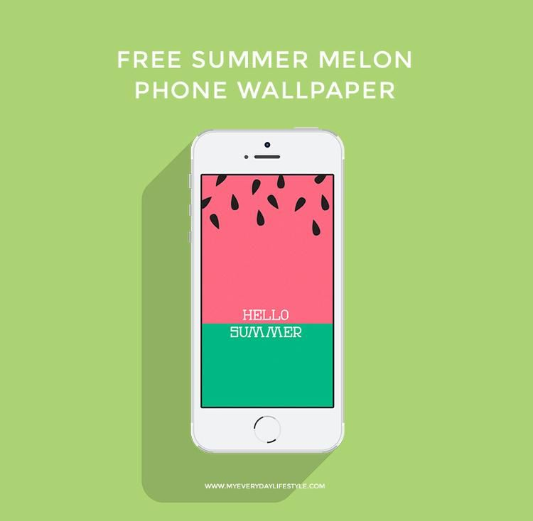 Click Here To Download The Summer Melon Phone Wallpaper Iphone