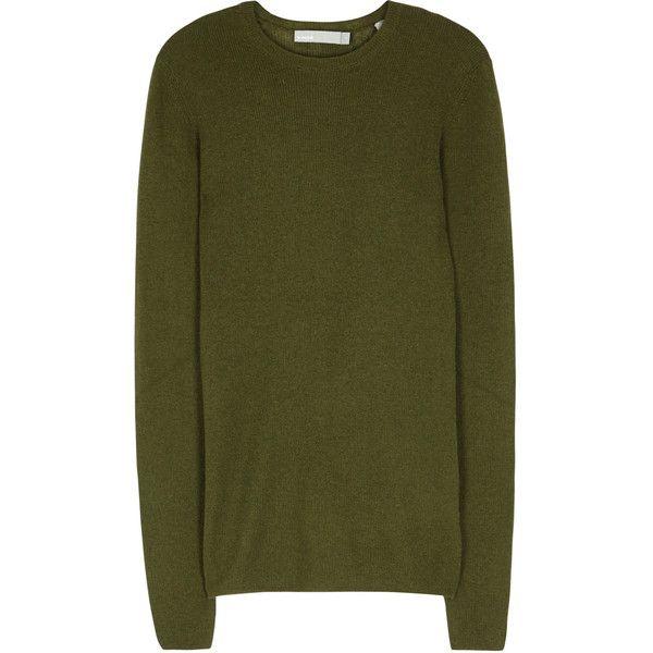 Vince Green Cashmere Jumper - Size L (20.320 RUB) via Polyvore ...