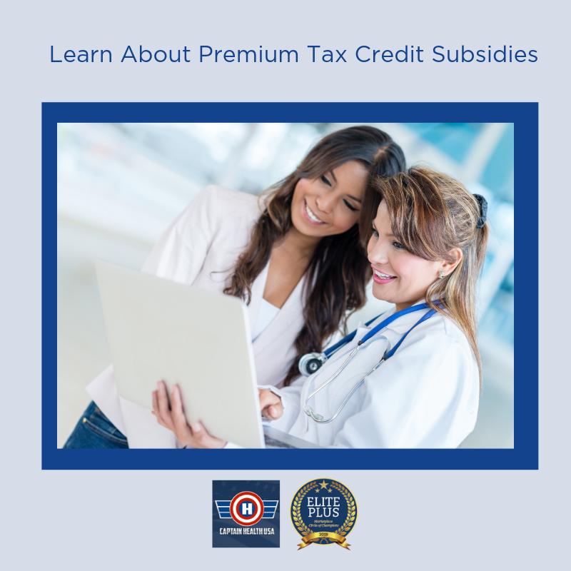 Premium Tax Credit Subsidy | Tax credits, Health plan ...