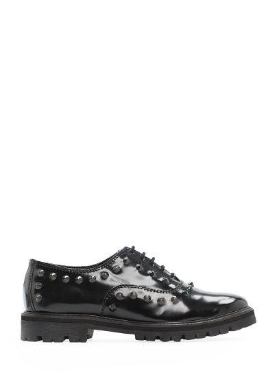 MANGO - Schoenen - Oxford schoenen met studs