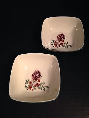 Lenox Boxwood And Pine Dip Bowl Side Dishes Set Of 2 Mint With Tags