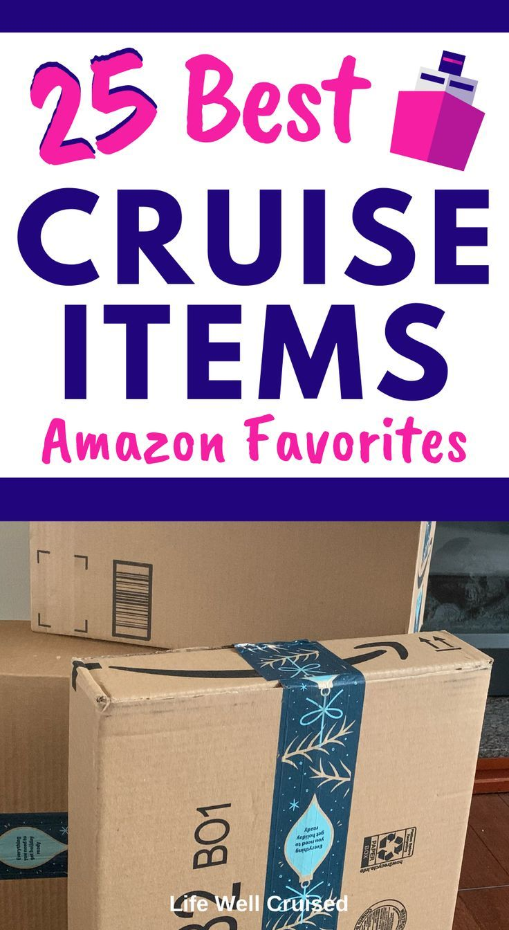 25 Best Cruise Items - Amazon Favorites #essentialsforcamping