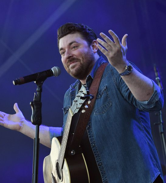 Singer/Songwriter Chris Young performs at Tree Town Music Festival - Day 4 on May 28, 2017 in Heritage Park Forest City, Iowa.