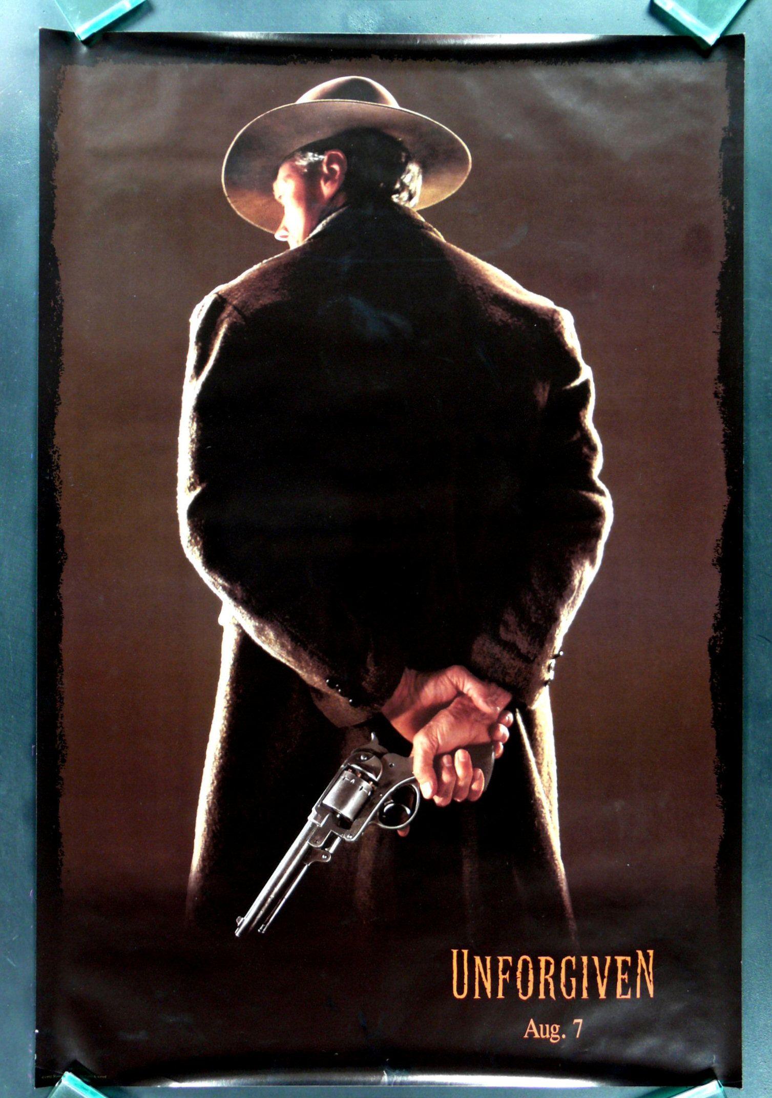 Unforgiven Best Modern Western Best Movie Posters Movies