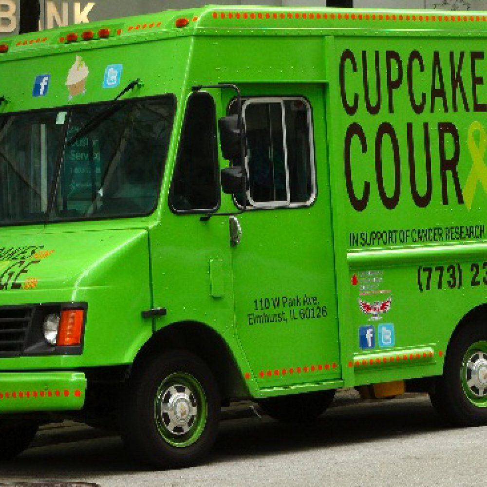 Cupcakes for courage food truck chicago food trucks