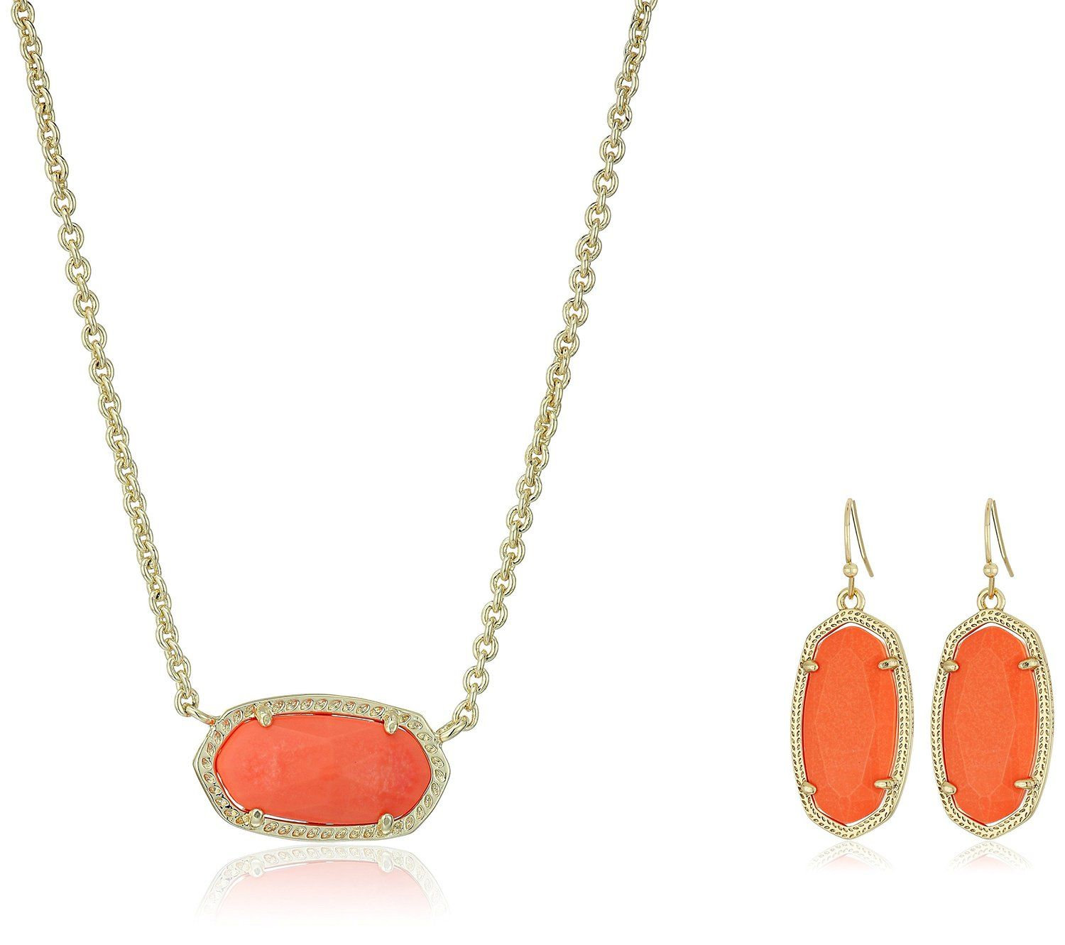 Kendra scott dani elisa earrings and necklace jewelry set read