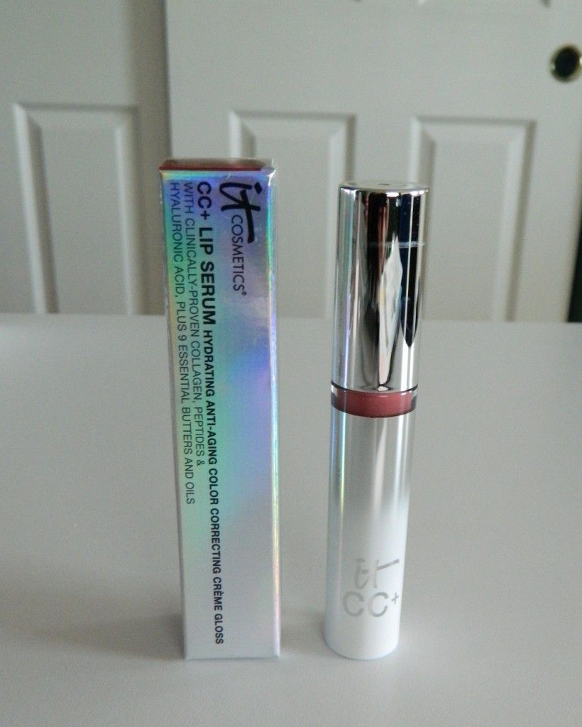 It Cosmetics CC+ Lip Serum Hydrating Anti-Aging Color Correcting Creme Gloss -review