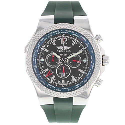 Breitling Mens A47362S4-B919 Bentley GMT Chronograph Watch