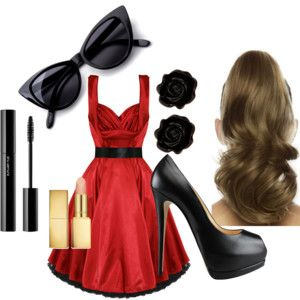 50's Fashion ♥♥♥ love love I need this outfit soo cute!!!!