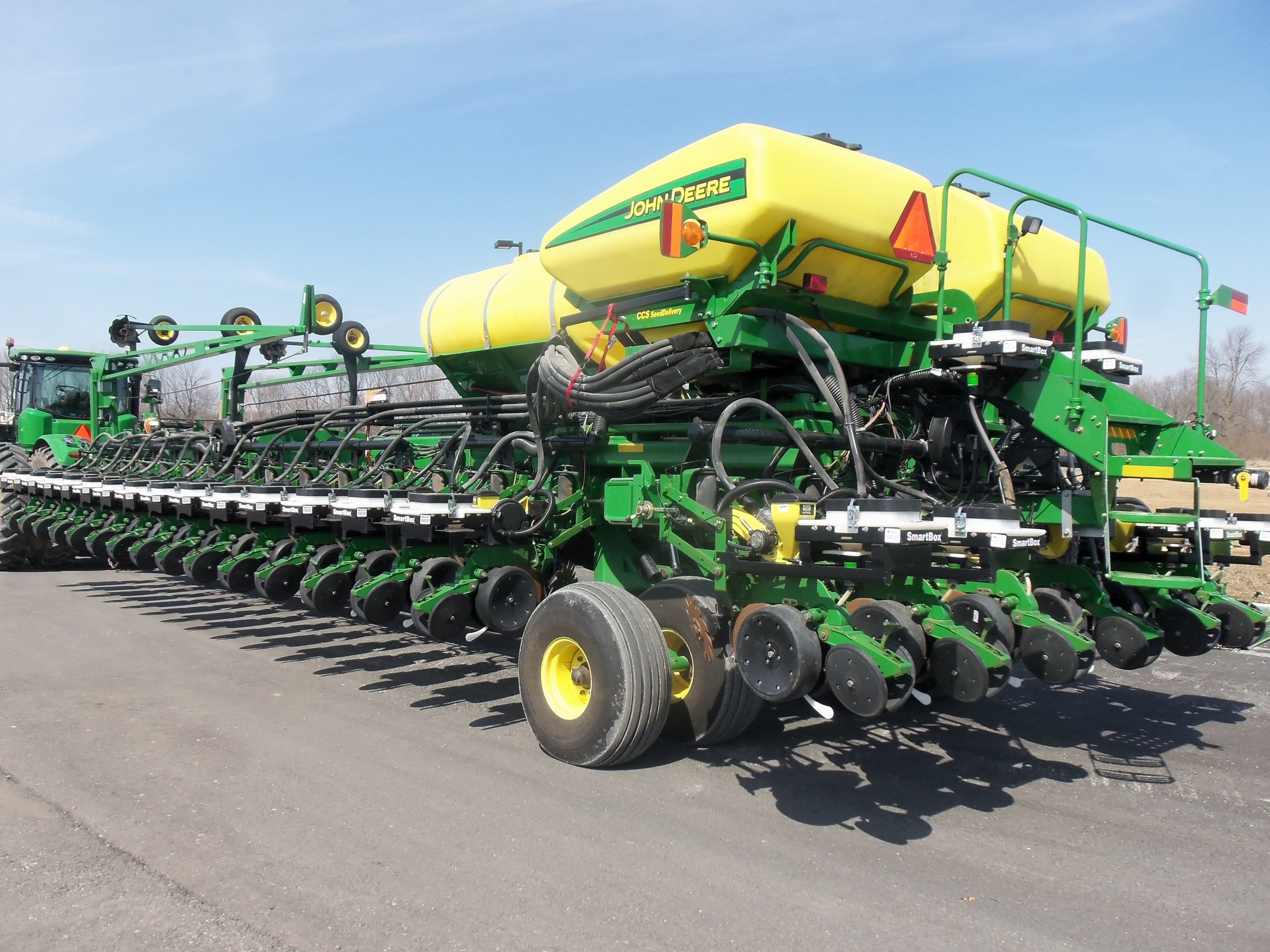 36 Row John Deere Db90 Corn Planter John Deere Equipment John