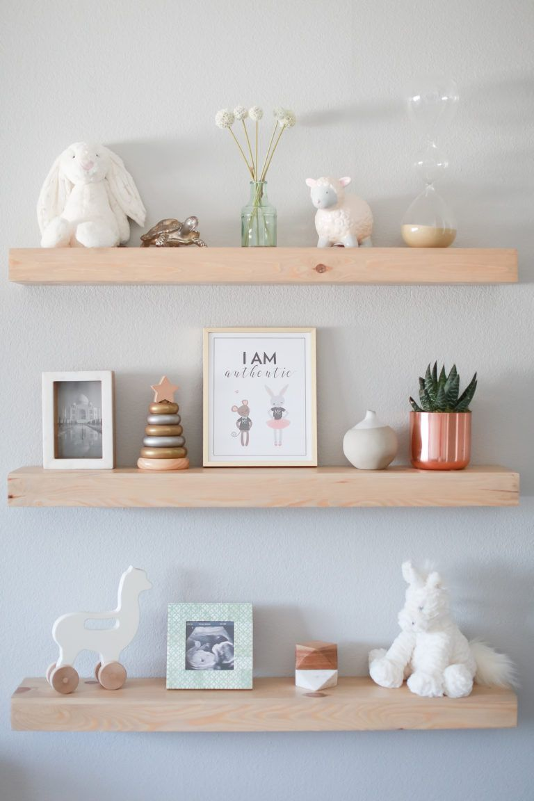 The Dream Nursery Movement | Nursery shelves, Nursery baby room