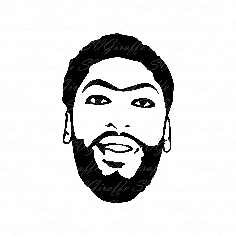 Anthony Davis Svg Dxf Png Pdf Jpg Eps Files Anthony Davis Etsy In 2020 Anthony Davis Svg Mug Art