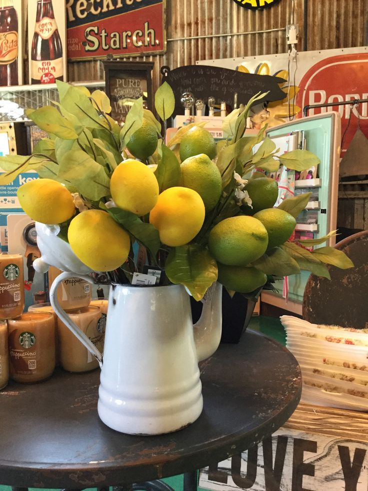 Decorative Lemons Or Limes