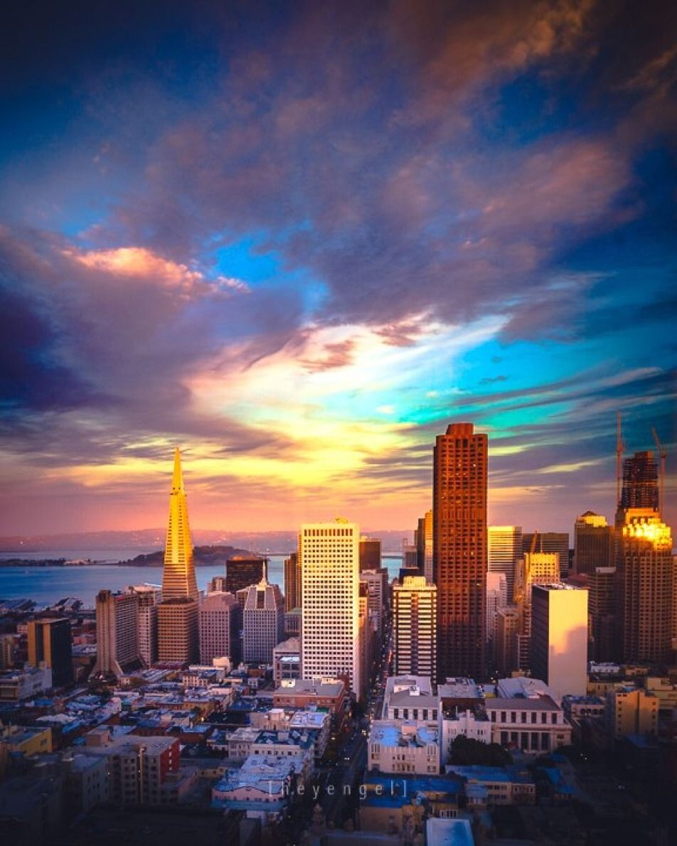 San Francisco by Engel Ching @heyengel #sanfrancisco #sf #bayarea #alwayssf #goldengatebridge #goldengate #alcatraz #california