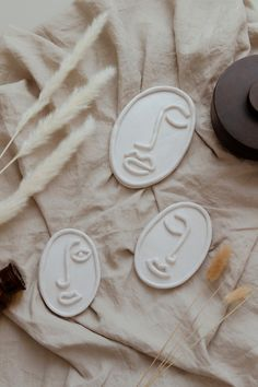 Photo of DIY Line Art Skulpturen aus Modelliermasse