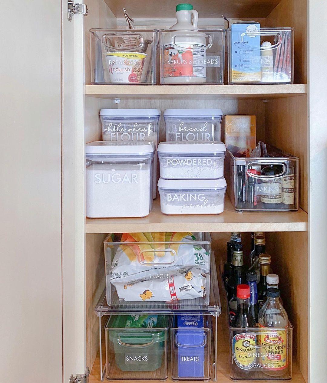 Christie Pro Organizer On Instagram Deep Pantry Shelves I Ve Got You Covered With 16 Deep Shelves It S Important In 2021 Deep Pantry Deep Shelves Pantry Shelf