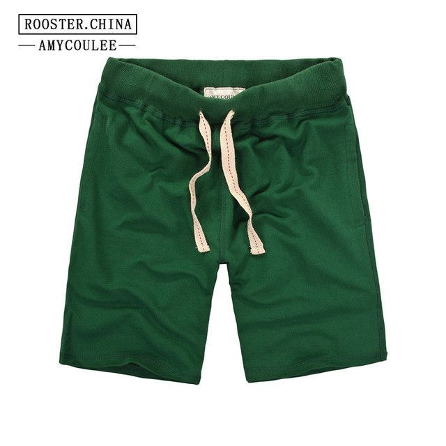 Solid Color Draw String Shorts