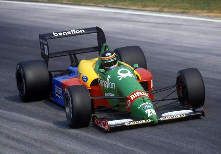 1988 Benetton B188 - Ford (Thierry Boutsen)