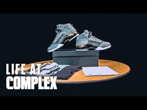 05381b5c4d81 Trophy Room Air Jordan 17 Full Sneak Peak and Review