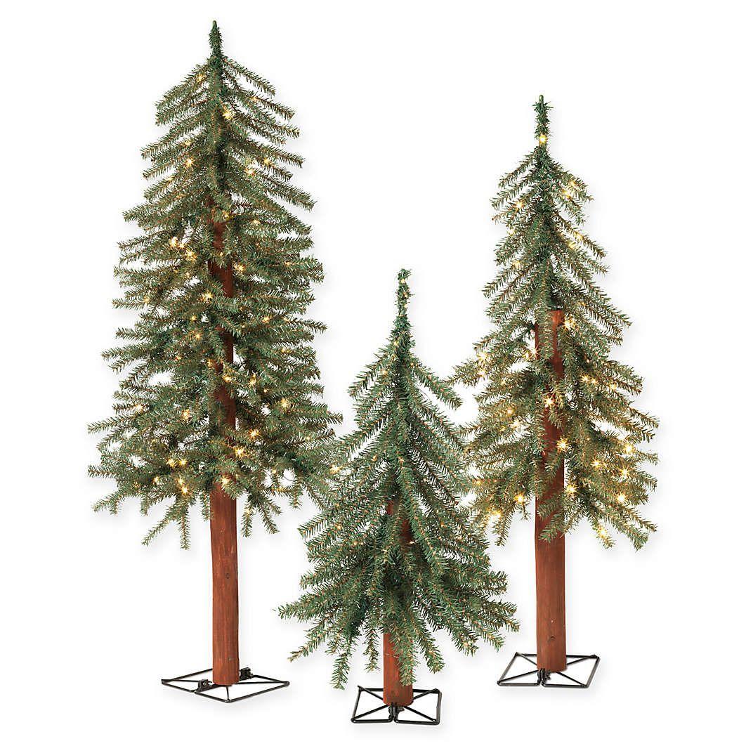 4 Ft Shorter Christmas Trees Bed Bath Beyond Christmas Tree Set Pre Lit Christmas Tree Holiday Lights Christmas