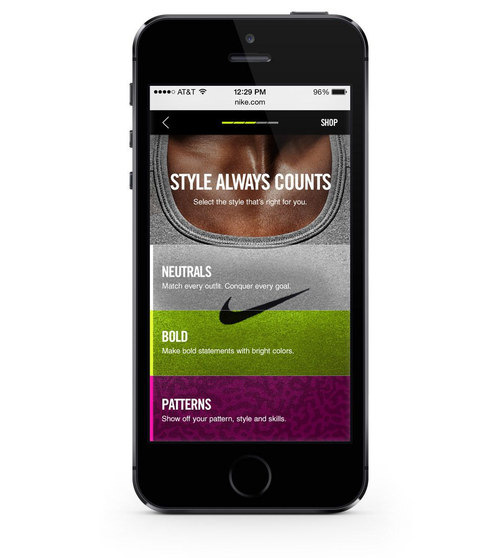 Nike pro bra fitter on behance nike pros nike
