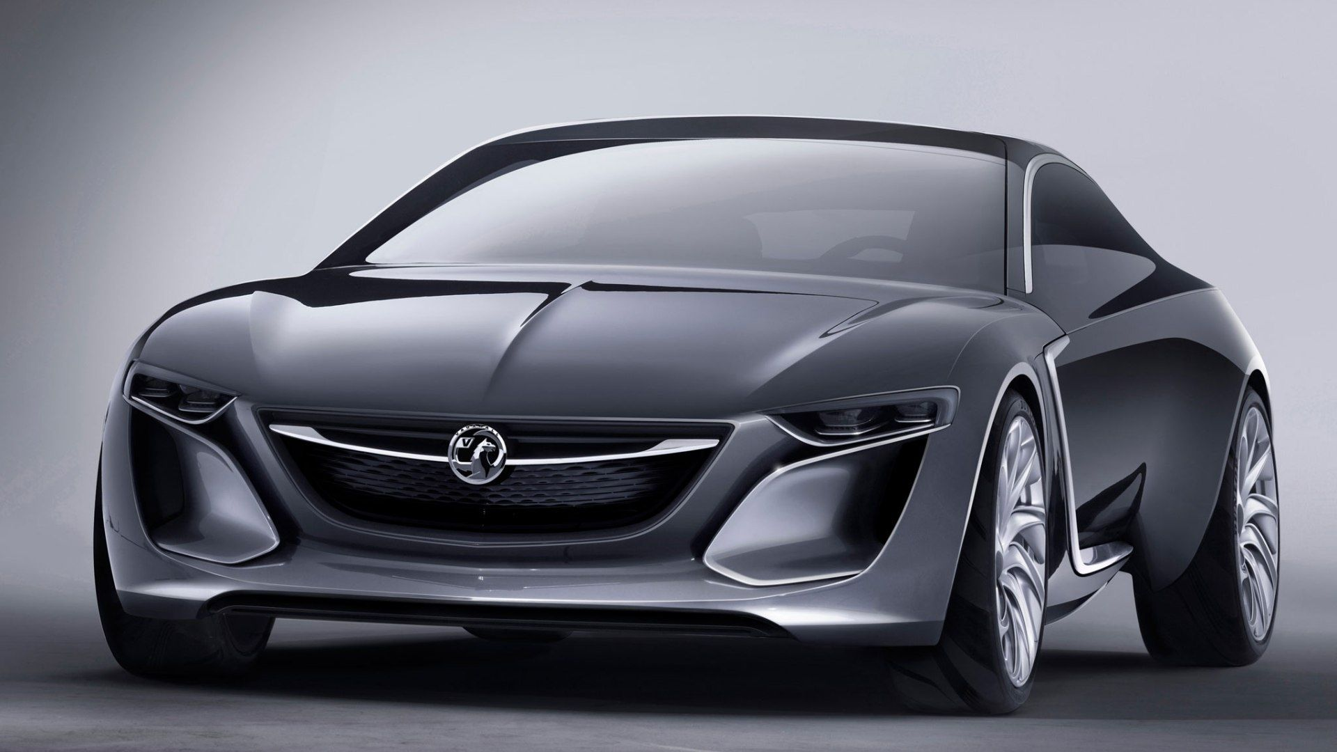 Black Jaguar Black Opel Monza Concept Car Photos Images